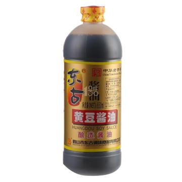 东古黄豆酱油650ml *4件