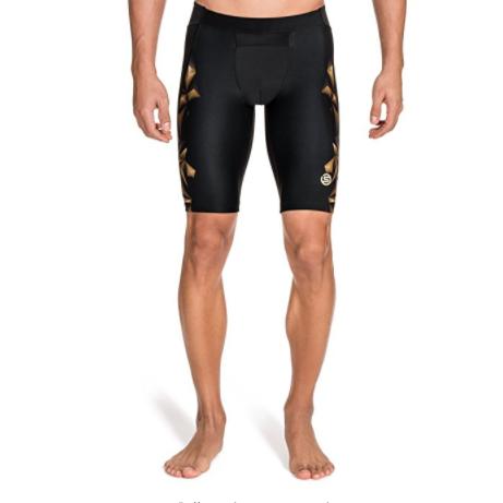SKINS 思金斯 A400 Gold 男士压缩短裤