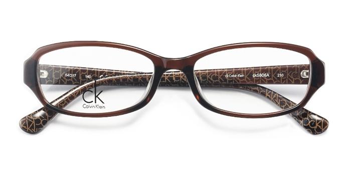 Calvin Klein 卡尔文·克莱 板材 框架眼镜CK5806A 210 54+1.60非球面树脂镜片