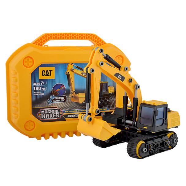 CAT 卡特彼勒 工程车组合 实习机器制造者系列 80932 大号挖掘机 *2件