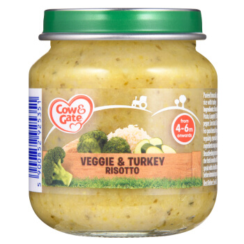 Cow&Gate 牛栏 婴幼儿鸡肉味素食蔬菜罐头泥 125g
