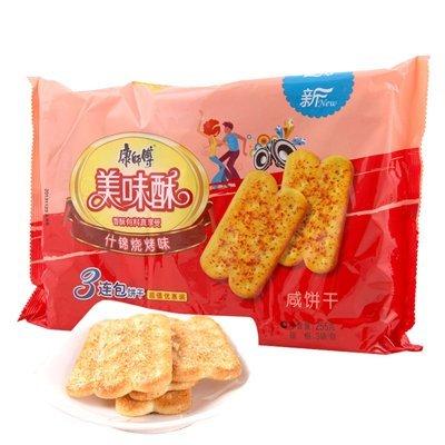 康师傅 美味酥 什锦烧烤口味 255g