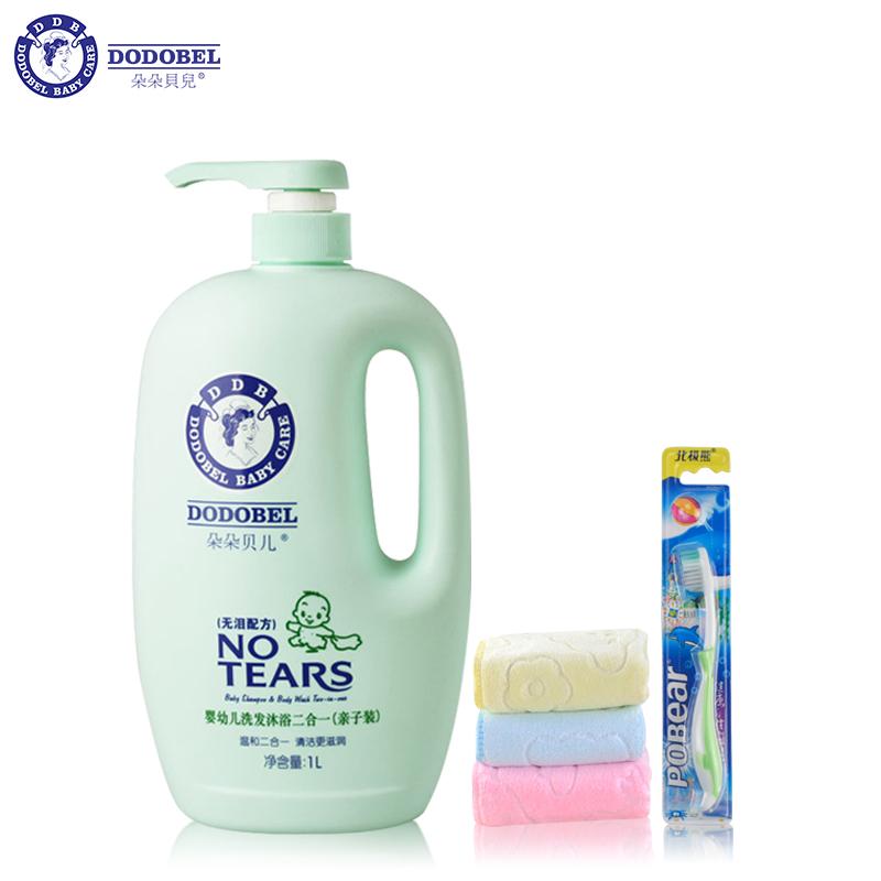 DODOBEL 朵朵贝儿 婴幼儿洗发沐浴露 1L