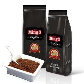 MingS 铭氏 黑袋 蓝山风味研磨咖啡粉227g