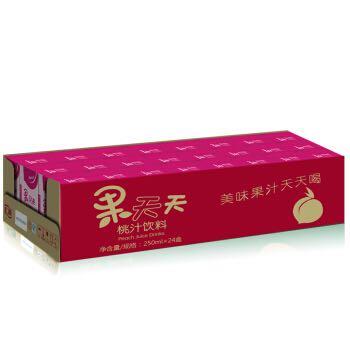 限京津东北:汇源 果汁饮品 果天天 桃汁饮料250mlx24盒