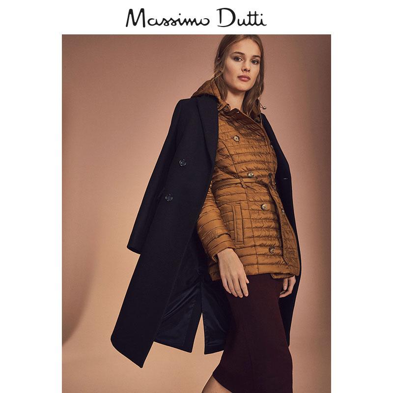 Massimo Dutti  06705751742 女士绗缝风衣