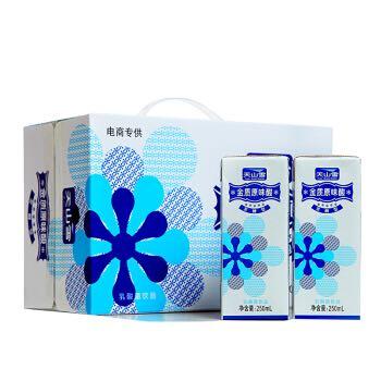 【京东超市】维维 天山雪苗条装金质原味酸250ml*18(电商装) *5件