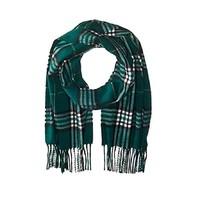 反季囤货:Phenix Cashmere Tartan Plaid 男士羊绒围巾