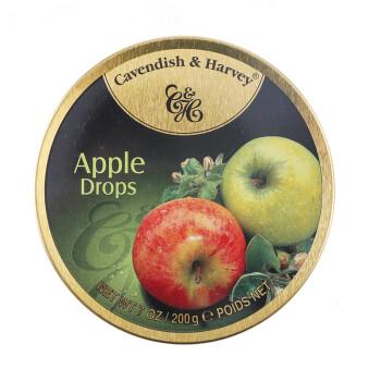 嘉云糖 Cavendish&Harvey 苹果味硬糖 德国进口 200g