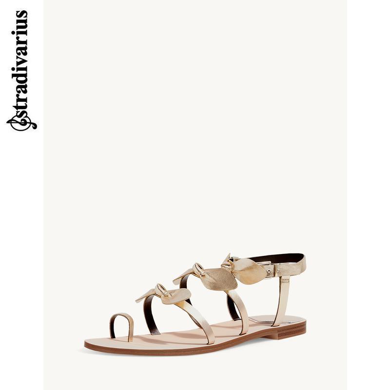 Stradivarius 16961241091 女士平底凉鞋