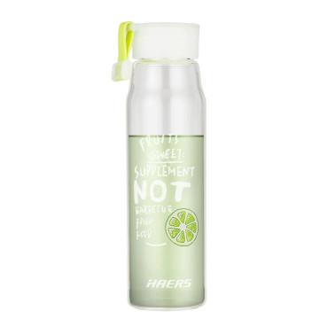 Haers/哈尔斯 多彩吊带玻璃杯 400ml LBL-400-94 绿色