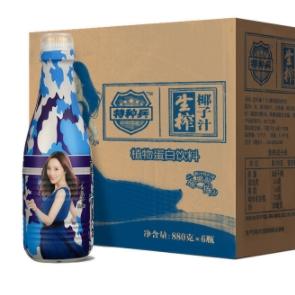 特种兵 生榨椰子汁 880ml*6瓶 *2件