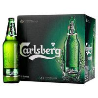 限地区:Carlsberg 嘉士伯 啤酒 640ml*12瓶