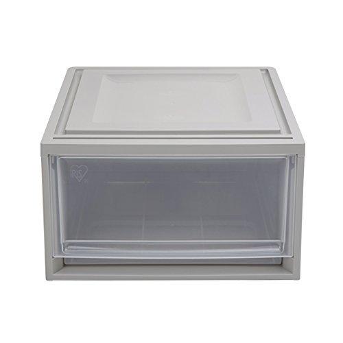 IRIS 爱丽思 收纳箱 4个套装 BC500 灰色