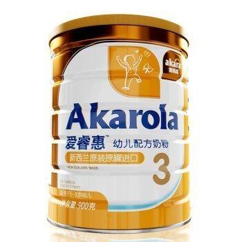 Akarola 爱睿惠 幼儿配方奶粉 3段 900g