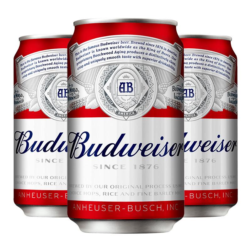 百威啤酒330ML1*24