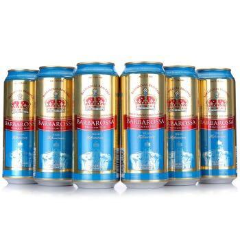 Barbarossa 凯尔特人 小麦啤酒 500ml*6听