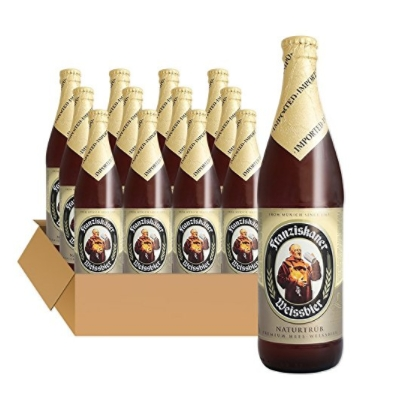 Franziskaner 教士 范佳乐啤酒 500ml*12瓶  (白啤)