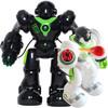 盈佳新威尔机械战警智能对话机器人玩具男孩儿童跳舞遥控机器人