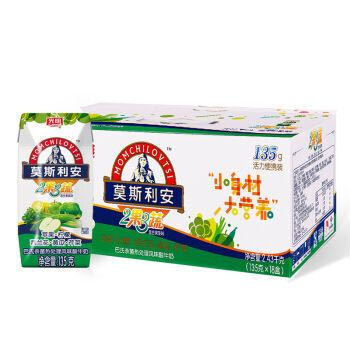 Bright 光明 莫斯利安 2果3蔬风味酸牛奶 135g*18盒