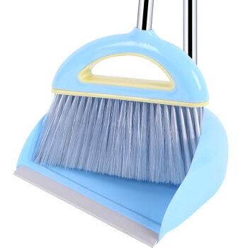 雅高 扫把 扫帚畚箕超值2件套 天空蓝