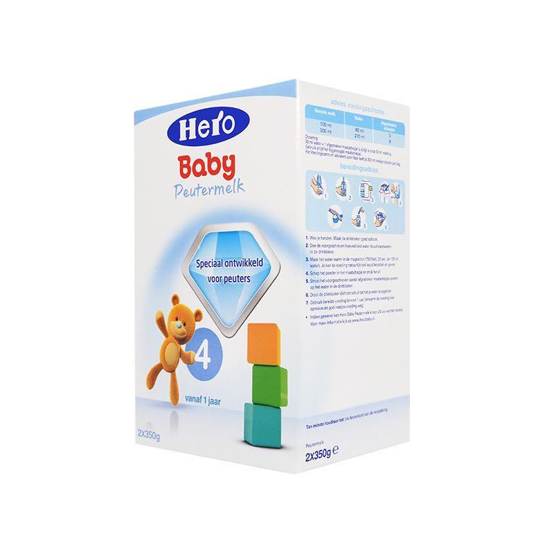 Hero Baby 婴幼儿配方奶粉 4段 700g