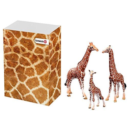 Schleich 思乐 51612 长颈鹿家族礼盒装
