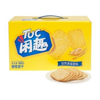 Tuc 闲趣 自然清咸原味 饼干900g