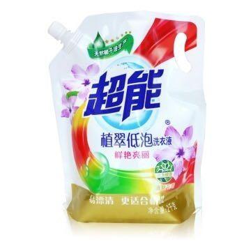 【京东超市】超能 植翠低泡洗衣液(鲜艳亮丽)2kg/袋装(新老包装随机发货)