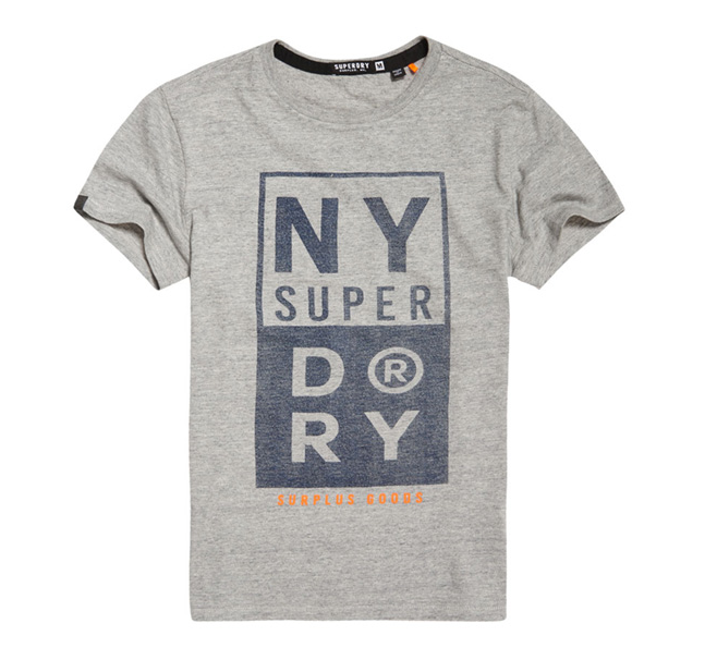 Superdry 极度干燥 Surplus Goods 图案短袖T恤