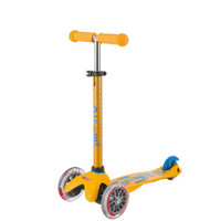 micro 米高 德陆诗系列 mini儿童3轮滑板车 黄色款