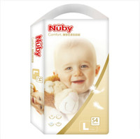 Nuby 努比 铂金装丝柔婴儿纸尿裤 L54片