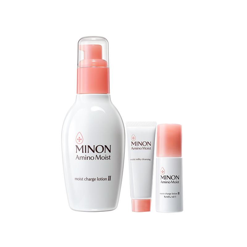 MINON 氨基酸保湿化妆水 II号水 150ml+卸妆乳霜 20g+化妆水 II号水 20g