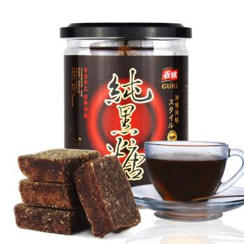 【京东超市】台湾进口 谷旗 纯黑糖300g 古法手工黑糖块