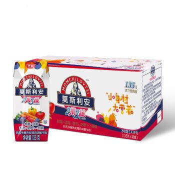 【京东超市】光明 莫斯利安 2果3蔬(红果)常温酸奶135g*18盒钻石装