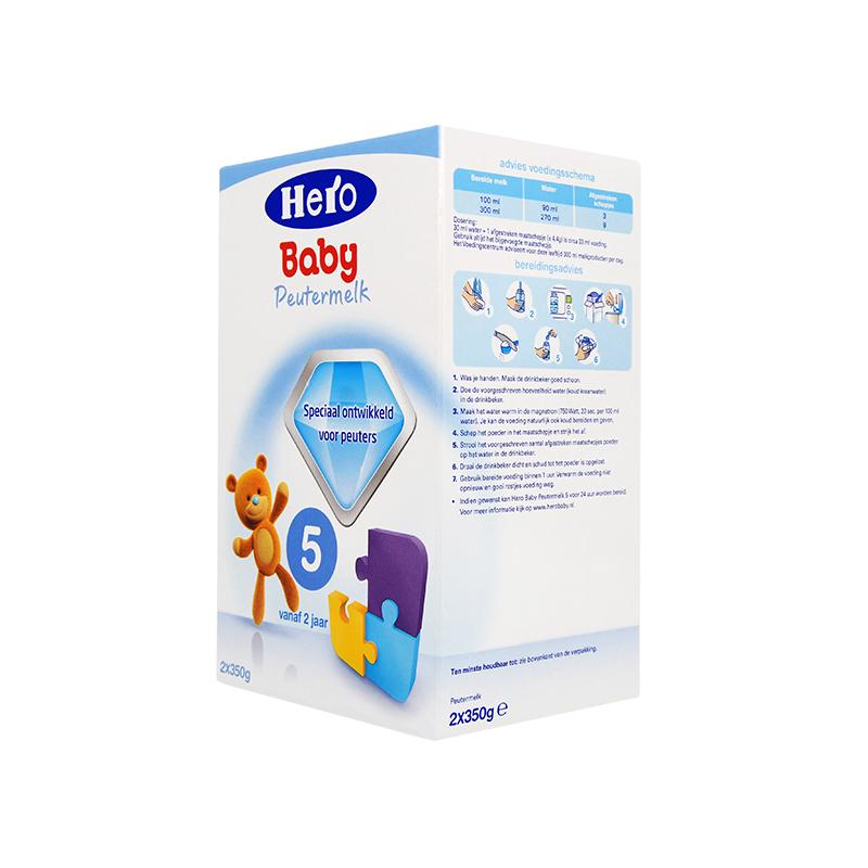 Hero Baby 荷兰本土婴幼儿奶粉 5段 700克 新老包装随机