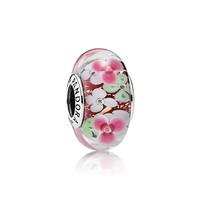 PANDORA 潘多拉 繁花庭园  791652 925银琉璃串饰