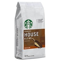 STARBUCKS 星巴克 house blend 咖啡粉 200g 6袋装  *2件