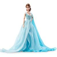 中亚prime会员:Barbie 芭比 Fashion Model Collection 蓝色晚礼服款