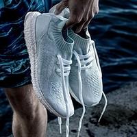 再降价:adidas 阿迪达斯 ULTRA BOOST UNCAGED x PARLEY 海洋环保 男款潮流跑鞋