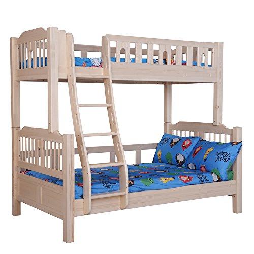 Sampo 松堡王国 松木双层儿童床(上铺190*90cm 下铺190*120cm)