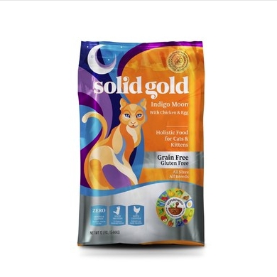 Solid Gold 素力高 无谷物抗敏配方全猫粮 美国版 12磅/5.44kg