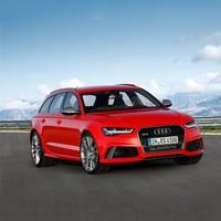 高性能旅行车:Audi 奥迪 RS6 Avant