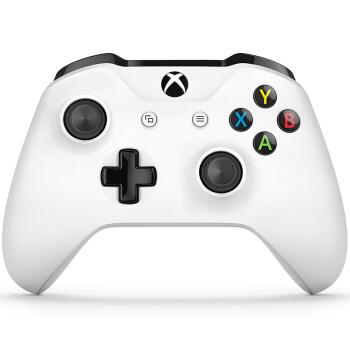 Microsoft 微软 Xbox One S游戏手柄 冰雪白