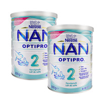 Nestle NAN 雀巢能恩 2段 婴幼儿标准配方奶粉 800g*2