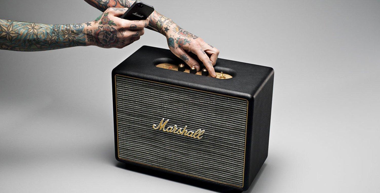 Marshall 马歇尔 Woburn 无线蓝牙音箱 翻新版