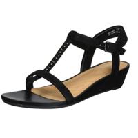 Clarks Parram Blanc Wedge 女士凉鞋
