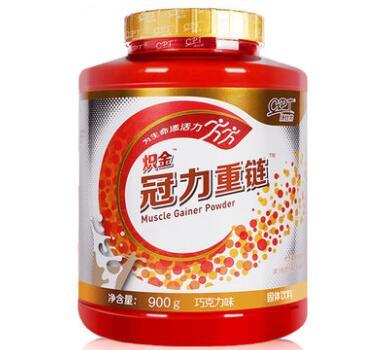 康比特 炽金 冠力重链 蛋白类固体饮料(二代增肌粉) 巧克力味 900g