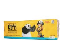 BABO 斑布 功夫熊猫系列 卫生卷纸四层 12卷装
