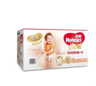 HUGGIES 好奇 金装成长裤 L88片
